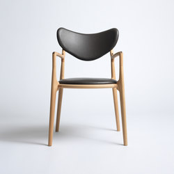 Salon Chair - Beech/Oil | Sedie | True North Designs