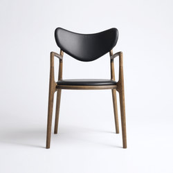 Salon Chair - Oak / Smoked | Sillas | True North Designs