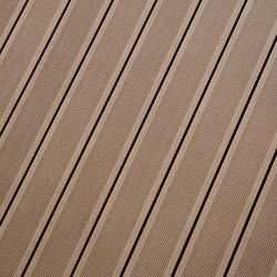 Elegance | Grooved Decking Board - Exotic brown | Flooring | Silvadec