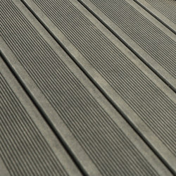 Elegance | Grooved Decking Board - Anthracite grey | Flooring | Silvadec