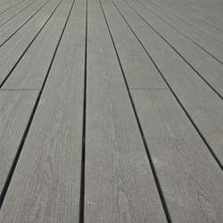 Elegance | Embossed Decking Board - Anthracite grey | Flooring | Silvadec