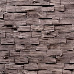 Wood Barbados Basalto | Wall veneers | Artstone