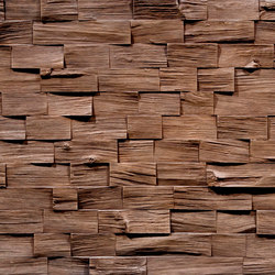 Wood Barbados Cobriza | Wand Furniere | Artstone