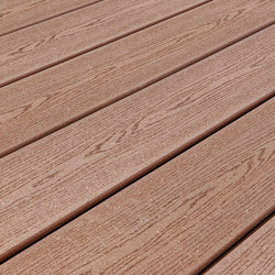 Elegance | Embossed Decking Board - Exotic brown | Flooring | Silvadec