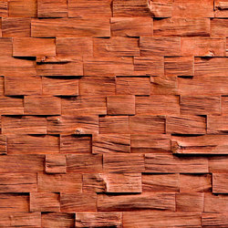 Wood Barbados Carmin | Wand Furniere | Artstone