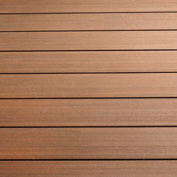 Atmosphere | Brushed Decking board - Sao Paulo Brown | Flooring | Silvadec