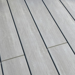 Atmosphere | Brushed Decking board - Belem Grey | Flooring | Silvadec