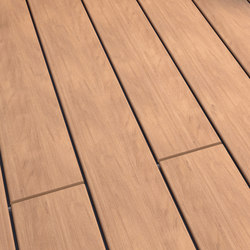 Atmosphere | Brushed Decking board - Lima Brown | Flooring | Silvadec
