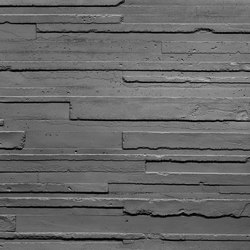 Hormigon 3D Anthracite | Wall veneers | Artstone
