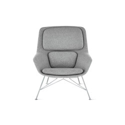 Striad Mid-Back Lounge Chair | Sillones lounge | Design Within Reach
