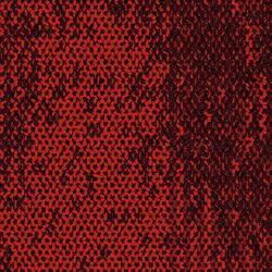 Neighborhood Smooth Dru Red/Smooth | Carpet tiles | Interface USA