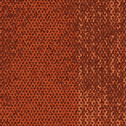 Neighborhood Smooth Persimmon/Smooth | Carpet tiles | Interface USA