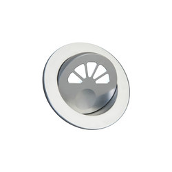Aquillo Light with Integral Bezel, clear anodised | Recessed wall lights | Original BTC