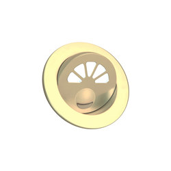 Aquillo Light with Integral Bezel, gold plated | Lampade parete incasso | Original BTC
