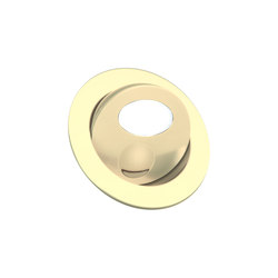Bora Light with Integral Bezel, gold plated | Recessed wall lights | Original BTC