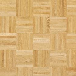 Pavimento massello Rovere Mosaico 12 | Pavimenti legno | Bauwerk Parkett