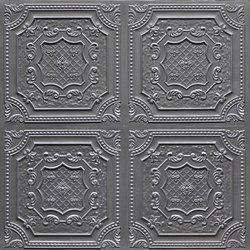 Epicure Fonce Argent | Piallacci pareti | Artstone