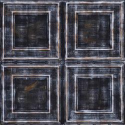 Plafont Noir Blanc | Chapas | Artstone