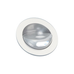 Sirocco II Light with Integral Bezel, clear anodised | Recessed wall lights | Original BTC