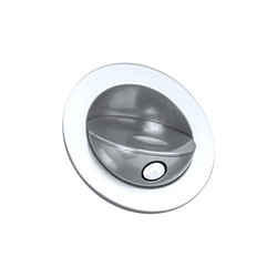 Sirocco Light with Integral Bezel, clear anodised | Recessed wall lights | Original BTC