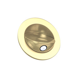 Sirocco Light with Integral Bezel, gold plated | Recessed wall lights | Original BTC