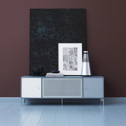 TV & SOUND | Hi-Fi regalsystem – Beispiel mit Beinen | Multimedia Sideboards | Montana Furniture
