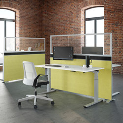 Crew | Desking systems | PALMBERG