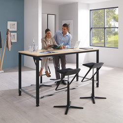 Sinac | Standing meeting tables | PALMBERG