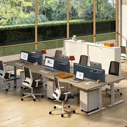 Winglet Operative | Desking systems | Bralco