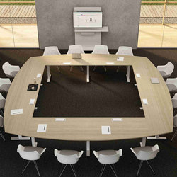 Winglet Meeting | Multimedia conference tables | Bralco