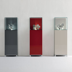 Graphos Glass 127 | Vitrines | Silenia