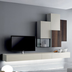 Graphos Glass 133 | Wall storage systems | Silenia