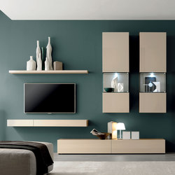 Graphos Glass 134 | Wall storage systems | Silenia