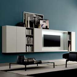 Graphos Wide 136 | Multimedia sideboards | Silenia