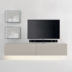 Graphos Glass 141 | Multimedia sideboards | Silenia