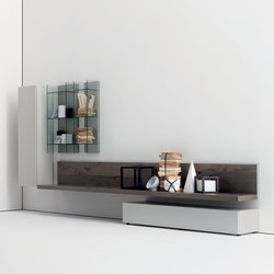 Graphos Glass 201 | Wall storage systems | Silenia