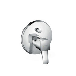 hansgrohe Metropol Classic Single lever bath mixer for concealed installation with lever handle | Bath taps | Hansgrohe
