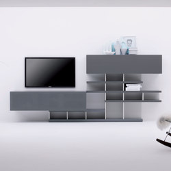 Charlotte 149 | Wall storage systems | Silenia