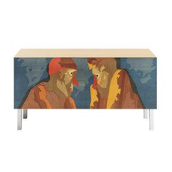 Intarsia | E.T.1 | Sideboards | Laurameroni