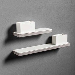 Type Shelf with Cup | Bath shelving | MAKRO
