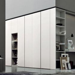 SpazioLab Hinged Ala Linear | Cabinets | Silenia