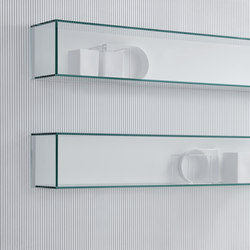 Graphos Glass | Shelving | Silenia