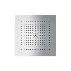 hansgrohe Raindance E 400 x 400 mm Air 1jet overhead shower | Shower controls | Hansgrohe