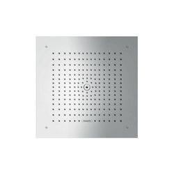 hansgrohe Raindance E 400 x 400 mm Air 1jet overhead shower EcoSmart 9 l/min | Shower controls | Hansgrohe