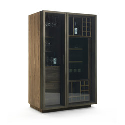Cambusa Glass | Wine cabinets | Riva 1920