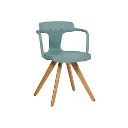 T14 inox / Iroko chair | Chairs | Tolix