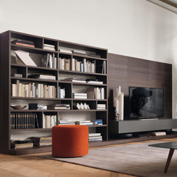 Open bookcase | Wall storage systems | Jesse