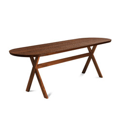 Touch Table (with wood legs) | Tavoli pranzo | Zanat