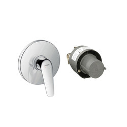 hansgrohe Novus Shower mixer set for concealed installation | Shower taps / mixers | Hansgrohe