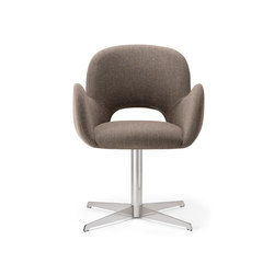 Bliss-04 base 120 | Visitors chairs / Side chairs | Torre 1961